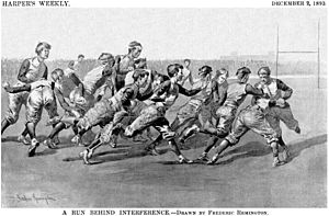 History of the football helmet - In the early days of American football, players did not wear helmets.