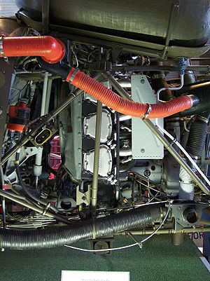 Lycoming O-435 - A Lycoming TVO-435 from a Bell 47G