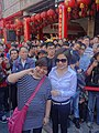 Belle Yu and her fan 20131123.jpg