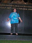 Ben Schumin at Iwo Jima Memorial.jpg