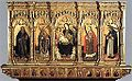 Benedetto Bembo. Madonna and Saints. 1462, Polyptych from the altar of the chapel in the Castello di Torrechiara. Castello Sforzesco, Milan.jpg