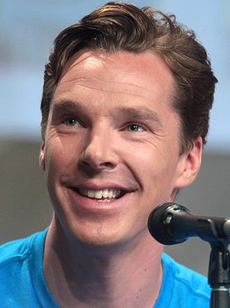 Benedict Cumberbatch - Cumberbatch at the San Diego Comic-Con in 2014