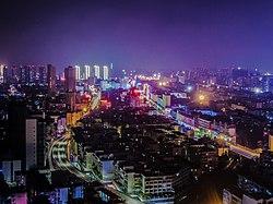 Bengbu Longzihu District Panorama.jpg