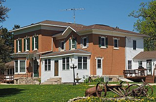 Benjamin Ellsworth House historic house in Utica, Minnesota, United States