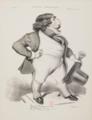 Benjamin Roubaud - Caricature de Roger de Beauvoir.png