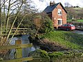 Bentley Brook and Woodeaves Cottage - geograph.org.uk - 320720.jpg