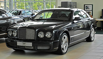 Bentley Brooklands - Image: Bentley Brooklands – Frontansicht, 10. August 2011, Düsseldorf