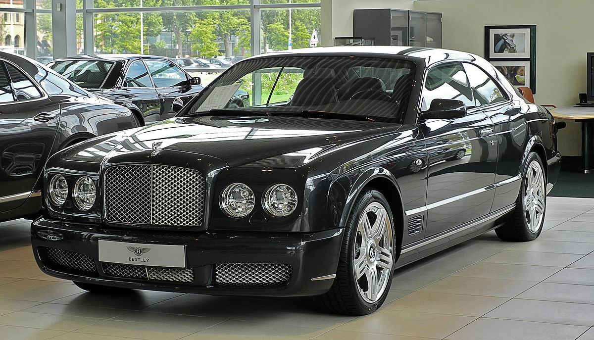 bentley brooklands - black
