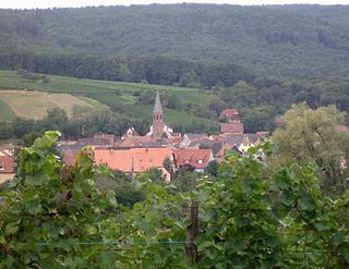 Bergholtzzell Commune in Grand Est, France