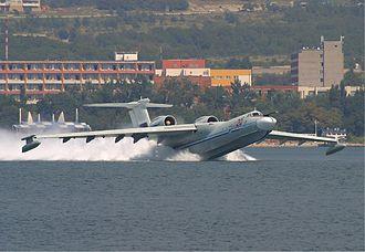 Hydroaviasalon - Beriev A-40 at 2004 Hydroaviasalon airshow