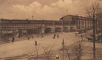 Berlin Zoologischer Garten railway station - Bahnhof Zoo about 1900