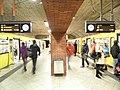 Berlin - U-Bahnhof Mehringdamm - Linien U6 und U7 - Bauzustand 12 2011 (6461858003).jpg