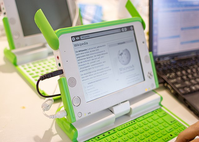 Offline version of Wikipedia working on Kiwix developed for OLPC computers