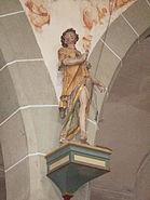 Bermatingen St Georg Heiligenfigur