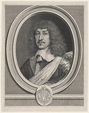 Bernard de Nogaret de La Valette d'Épernon - Engraved portrait of Bernard de Nogaret de La Valette, 1650, by Robert Nanteuil. Yale University Art Gallery