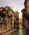 Bernardino Bison - Il Naviglio Morto a Milano.jpg