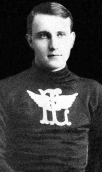 Bert Morrison - Morrison with the Portage Lakes Hockey Club.