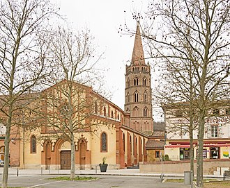Bessières, Haute-Garonne - Image: Bessières Eglise Saint Jean Baptiste