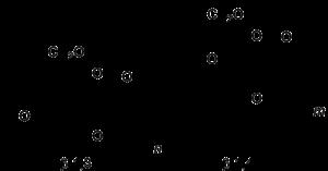 Lichenin - Image: Beta 1,3 1,4 glucan