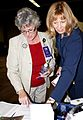 Betsy Graham, left, with Barbara Thompson,2009.jpg