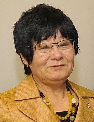 Bev Oda - Official Portrait of Minister Bev Oda in 2011