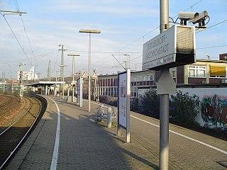 Düsseldorf-Friedrichstadt station railway station in Germany