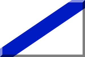 2013–14 Torneo Argentino A - Image: Bianco e Blu (Diagonale)
