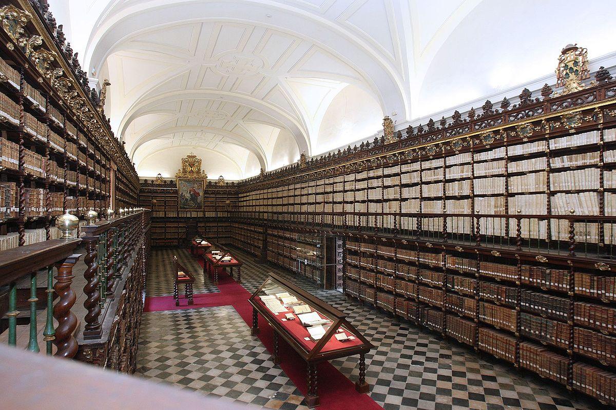 Biblioteca de santa cruz wikipedia la enciclopedia libre - Libreria universitaria madrid ...