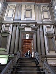 File Biblioteca Laurenziana Vestibolo 04 Jpg Wikimedia