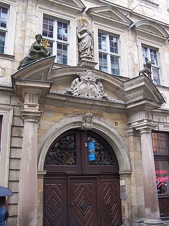 Johann Dientzenhofer - Bibra Palais (Bibra Haus), Bamberg