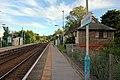 Bidston-bound platform, Cefn-y-bedd railway station (geograph 4025227).jpg
