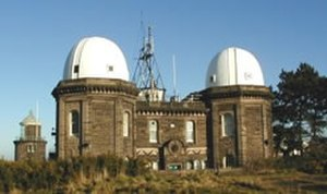 British Oceanographic Data Centre - Bidston Observatory, home of BODC from 1975 to 2004.