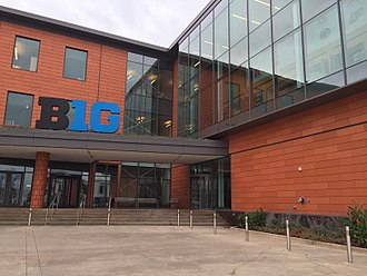 Big Ten Conference - The conference's headquarters in Rosemont, Illinois
