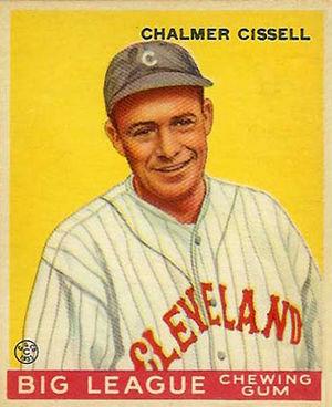 Bill Cissell - Bill Cissell 1933 Goudey baseball card