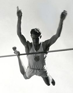 Bill Sefton American pole vaulter