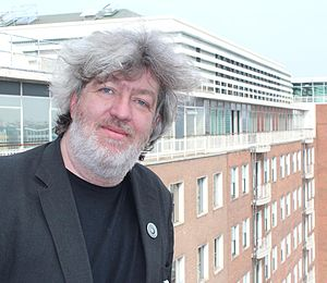 Bill Thompson (technology writer) - Bill Thompson at the BBC Television Centre, 2012