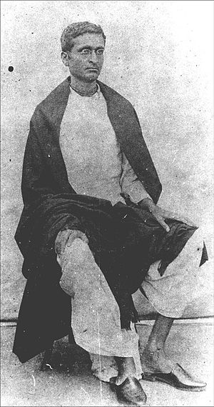 Bhaktisiddhanta Sarasvati - Bimala Prasad as a student, early 1890s