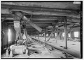 Bin floor conveyors and turn spouts. - Concrete-Central Elevator, 175 Buffalo River, Buffalo, Erie County, NY HAER NY,15-BUF,28-13.tif