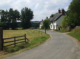 Binsey, Oxfordshire - Image: Binsey village