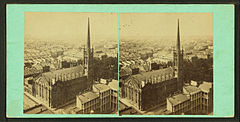 Bird's-eye from St. Patrick's church, by Theodore Lilienthal.jpg