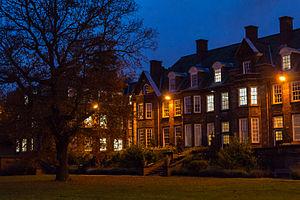 Birmingham Business School - Birmingham Business School at night