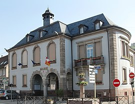 The town hall in Bitschwiller-lès-Thann