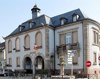 Bitschwiller-lès-Thann Commune in Grand Est, France