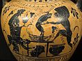 Black figure amphora, Dionysos and satyrs, 530-500 BC, AM Syracuse, 121520x.jpg
