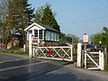 Blankney & Metheringham crossing from geograph 2368364 by Richard Croft.jpg