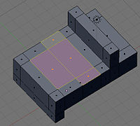 Blender3d Method 2 select bed and doors s1.jpg