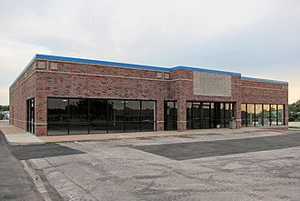 Blockbuster LLC - Former Blockbuster store in the Midwest.