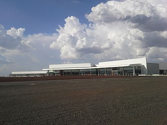 Toowoomba Wellcamp Airport - The main terminal building.