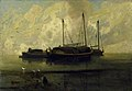Boats at Anchor on Breydon Water - John Sell Cotman.jpg