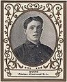 Bob Ewing, Cincinnati Reds, baseball card portrait LCCN2007683740.jpg
